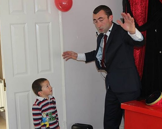 Murf the Magician Childrens Entertainer Dublin Kildare